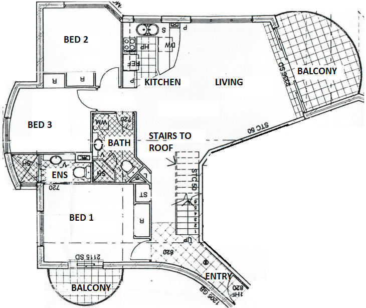 Unit 31 floor plan