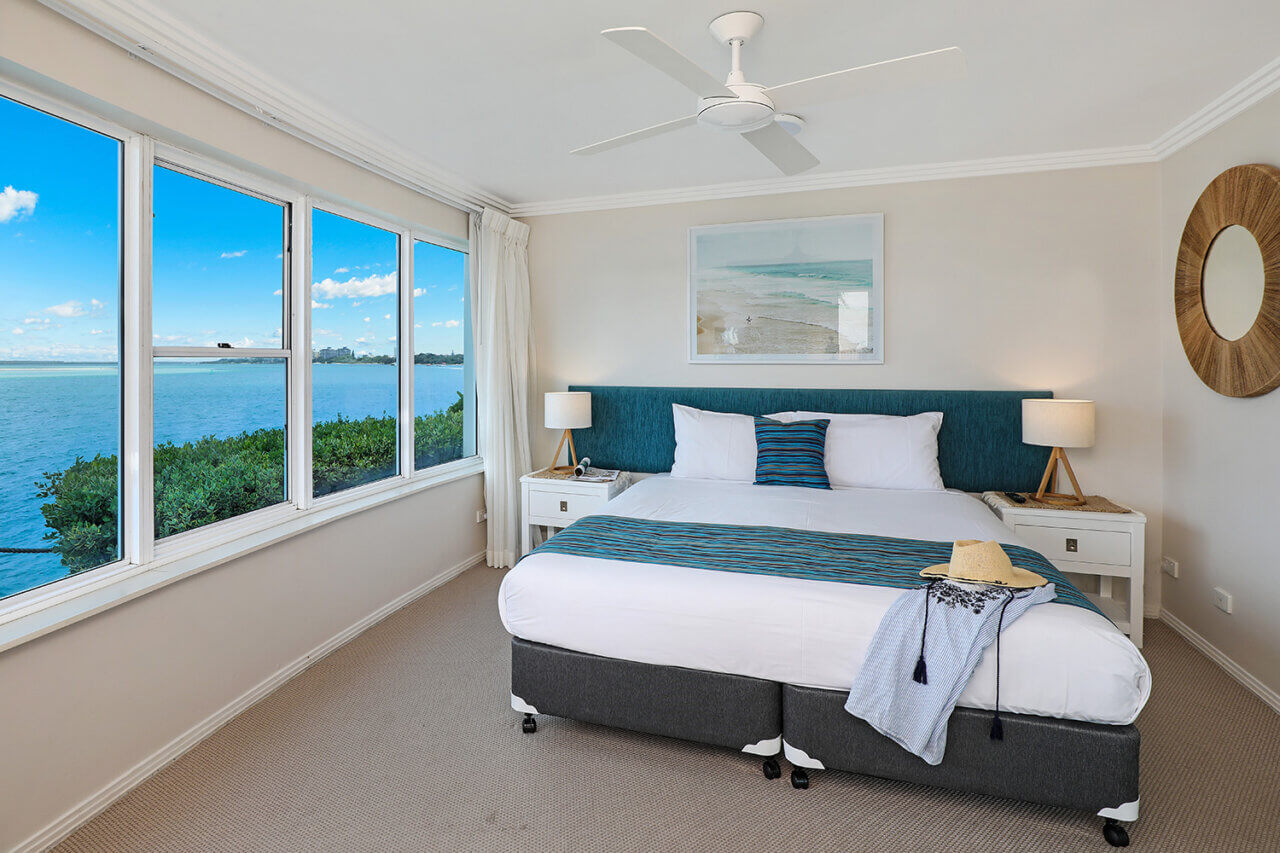Waterfront 9, Master Bedroom